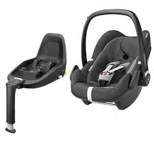 maxi cosi pebble plus group 0 car seat with 2way fix base black crystal