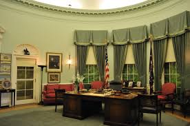 white house oval office. White House Oval Office | The Replica Of Room As It Looked During President