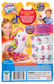 Poppin Polly Little Live Pets Bird Action Figures & Statues Action Figures