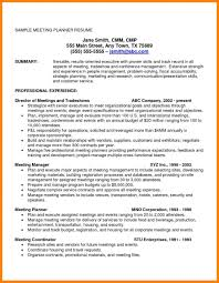 Event Planner Resume Resumes Best Example Livecareer Skills