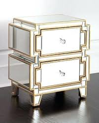 willow mirrored chest glass of drawers ikea white