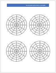 Polar Graph Paper 15 Degrees Kadil Carpentersdaughter Co