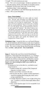 length 750 words minimum per essay