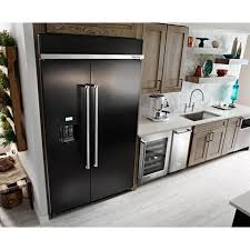 kitchenaid 48 refrigerator. KitchenAid 29.5 Cu. Ft 48-Inch Width Built-In Side By Refrigerator Kitchenaid 48 3