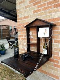 diy pallet patio bar. Diy Pallet Hanging Bar DIY Patio Wall   99 Pallets