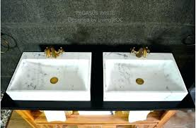 vessel sink and faucet combo vessel sink faucet white marble bathroom sink stone white oval vessel vessel sink and faucet combo