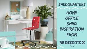 home office solution. Woodtex Shedquarters Home Office Solution A