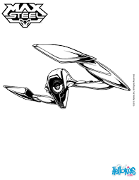 Max Steel Coloring Page More Tv