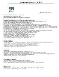 Musician Resume Samples Best Of Resume Music Sample For Student Examples Musical Theatre Creerpro