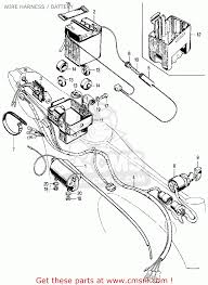 Wiring 1974 honda ct70 diagram instrument panel lights