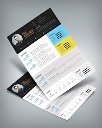 modern resume template for web graphic designer psd file modern resume template for web graphic designer psd file