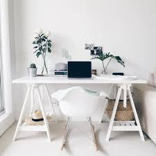 ikea office inspiration. lovely uncluttered white ikea office inspiration