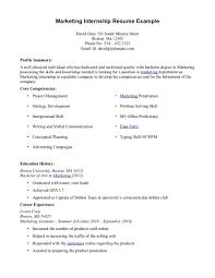 Format Of Resume For Internship Students Internship Resume Sample