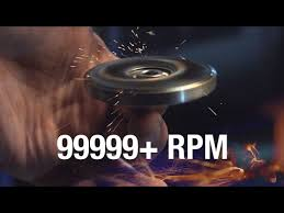 99999 rpm fidget spinner toy cause i can