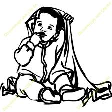 blanket clipart black and white. baby under blanket clipart black and white l