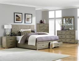 Driftwood Bedroom Furniture Homelegance Abbott Platform Storage Bedroom Set Driftwood B2297