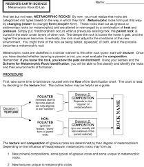 Rock Type Identification Flow Chart Pdf Free Download