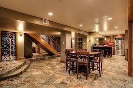 Rustic Basement Design Ideas Wonderful On Interior Throughout Home 8