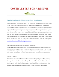 create a cover letter best business template how to make cover letter for resume sample html resume create