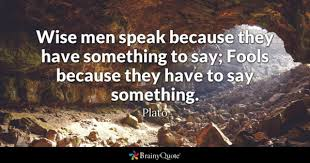 Speak Quotes