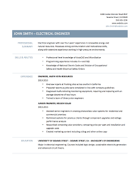 Sample Resume For Energy Engineer Ideas Collection Experience Resume Sample for Electrical Engineer 2