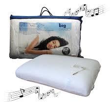 Ipod Pillow Foam Music Pillow By Big Sleep