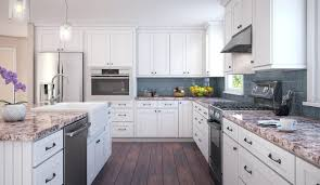 White Shaker Cabinets Black Hardware Brass Without Crown Molding. Shaker  Cabinet Doors With Glass Cabinets Crown Moulding White Kitchen. White Shaker  Style ...