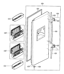 lg sxs refrigerator parts model lrscsw sears partsdirect find part by diagram >