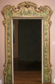 File:Door frame, 18th century Venice, wood, polychrome decoration and  silvering,
