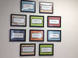 office decor ideas. school office decor administration decorating ideas profile wall my principalu0027s