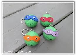 Golf Ball Decorations Teenage Mutant Ninja Turtles Backpack Charm Recycle Golf Ball 100