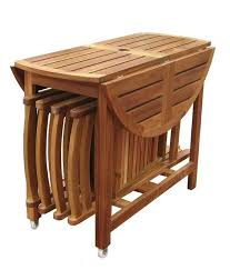 attractive folding table with chair storage new 5 piece folding outdoor patio table and chair set