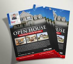 custom marketing materials 10 ea unlimited revisions open house flyer 2