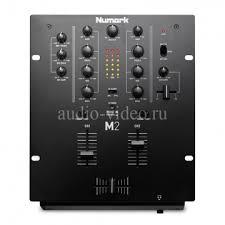 <b>DJ Микшерный пульт</b> NUMARK M2 черного цвета