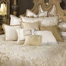 michael amini luxembourg luxury bedding set