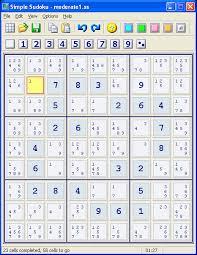 Simple Sudoku Free Download For Windows 10 7 8 8 1 64 Bit