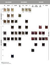 Goldwell Demi Permanent Hair Color Chart Goldwell Colorance Colour Chart Www Bedowntowndaytona Com