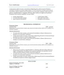 New Resume Styles New Style Resumes Enderrealtyparkco 7