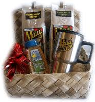 aloha basket whole bean coffee