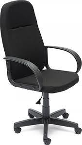 <b>Офисное кресло Tetchair</b> LEADER (ткань, Черный, 2603) купить в ...