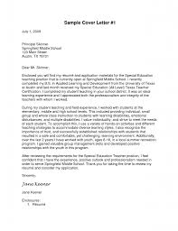 Cover Letter Special Education Paraprofessional Sample Forltant