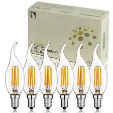 keymit new c35t 4w ul e492997 chandelier led bulbs dimmable with 90 types