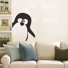 new penguin cartoon animal wall stickers for kids decoratioon wall decals for kid s room and nursery wall decals for kids wall decor