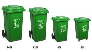 mua sắm thùng rác paloca
