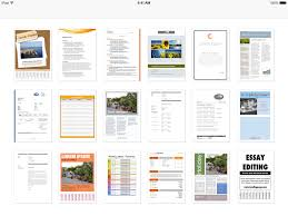 Microsoft Web Page Templates Templates For Word For Ipad Iphone And Ipod Touch Made For Use