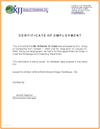 Sample Certification Letter For Training Bes Fabulous Sample