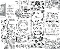 full size coloring book markers colouring to good 8 printable verse bookmarks for kids scripture