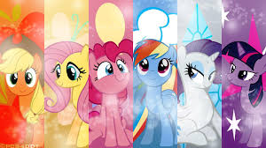 rainbow little pony wallpaper 08 hdwallpapers