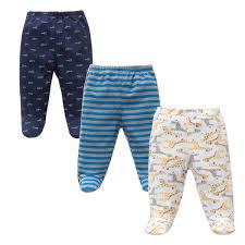 <b>3PCS Lot</b> Spring Autumn Footed Baby <b>Pants</b> 100% <b>Cotton</b> Baby ...