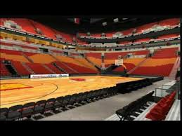 Heat Arena Seating Chart 3d Curious Miami Heat Arena Seating Detailed Seating Chart